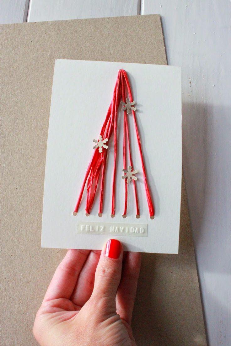 de navidad postales de navidad actividades nios para navidad marcadores tarjetas diy ideas para diy cards christmas greetings
