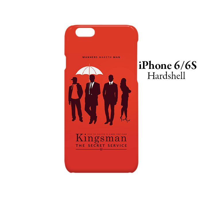 Kingsman The Secret Service iPhone 6/6s Hardshell Case