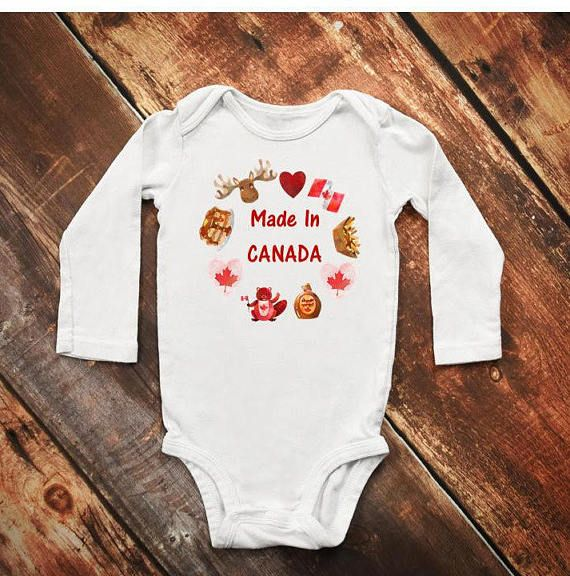 Check out this item in my Etsy shop https://www.etsy.com/ca/listing/533641118/canadian-onesie-poutine-onesie-canada