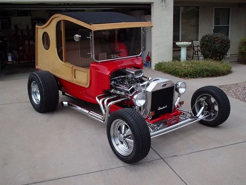1917 Ford Woodie Street Rod