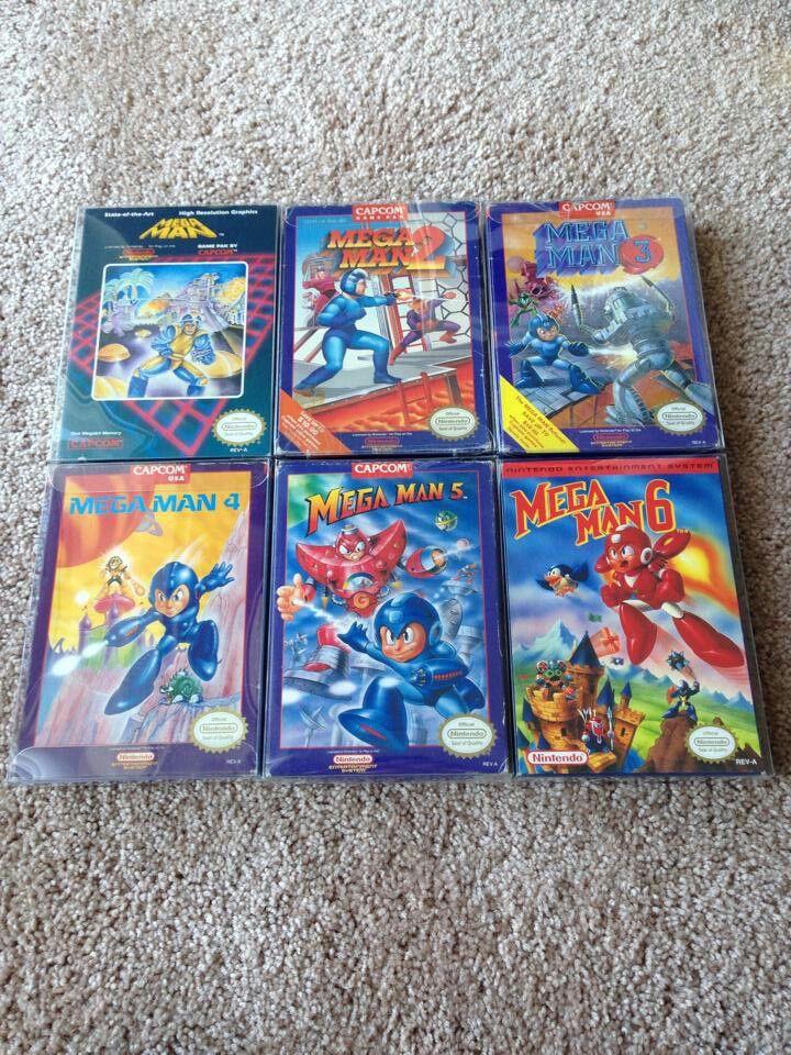 Megaman collection NES