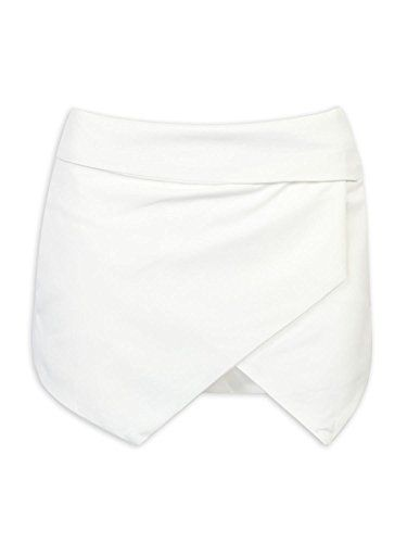 "Choies Women's Asymmetrical Hem Shorts Skort White Boho Tulip Skorts S:   Choies Women's Black Asymetric Hem Tulip Skortsbr/br/ XS:Waist:26.8"" / Hip:37.0"" / Length:12.2""br/ S:Waist:28.3"" / Hip:38.6"" / Length:12.6""br/ M:Waist:29.9"" / Hip:40.2"" / Length:13.0""br/ L:Waist:31.5"" / Hip:41.7i"" / Length:13.4""br/ XL:Waist:33.1"" / Hip:43.3"" / Length:13.8""br/ br/br/ Record Your Inspired Fashion:br/ Choies walks you along Fresh Spring, Hot Summer, Golden Fall and Cool Winter;br/ Many years later, ..."