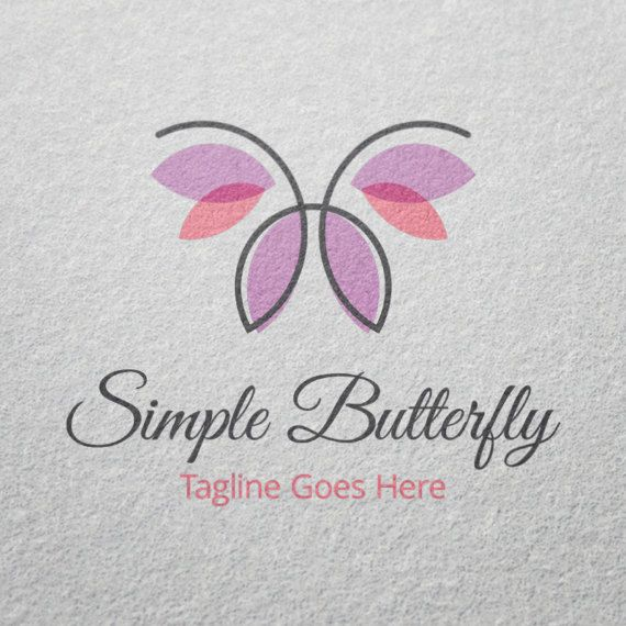 Butterfly Logo Template for Sale