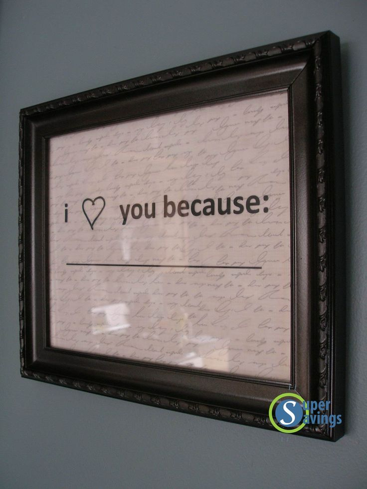 Put it up in the bathroom and tell him or her or them every day. Just need a whiteboard pen!