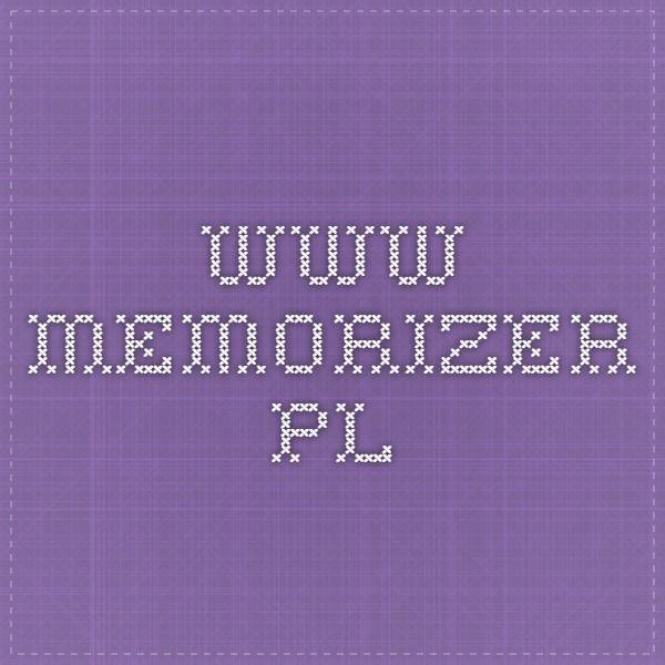 www.memorizer.pl