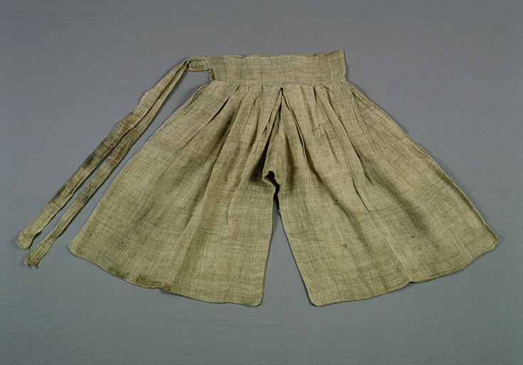 Underwear (sokgot) of Kim Ham. Important Folklore Cultural Heritage 209. Kim Ham (1568-1598) was a Joseon Dynasty general, died after fighting with Japanese pirates.