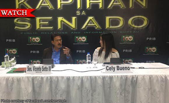 Hindi lahat ng pulitiko may extra-marital affairs - Senator Tito Sotto