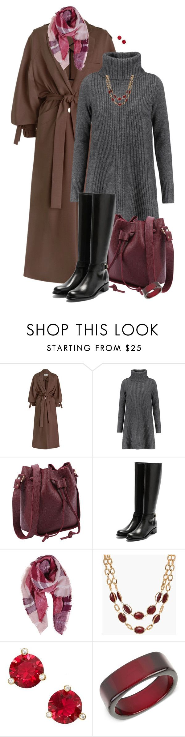 """""""Trench Coat for Fall/Winter"""" by sherry7411 on Polyvore featuring Zimmermann, Madeleine Thompson, Rupert Sanderson, Humble Chic, Talbots, Kate Spade and INC International Concepts"""