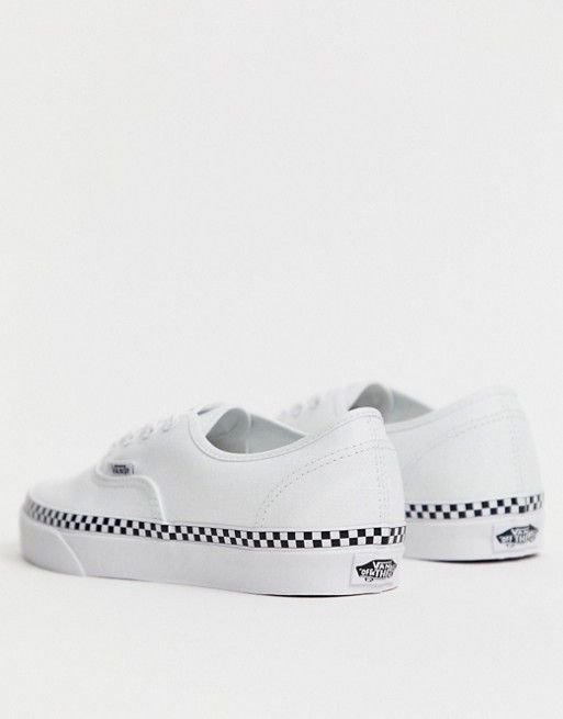 Vans Foxing Authentic Zapatillas Blancas 2019 Cuadros En De 0ONmwv8n