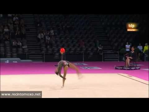 Ulyana Trofimova Ball AA World Championships Montpellier 2011 (check out the move at 1:17!) and the backward illusion turns are gorgeous!