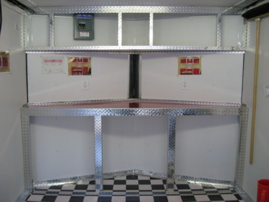 quarter living asp cabinets trailer gn custom for enclosed an cabs photos cabinet options