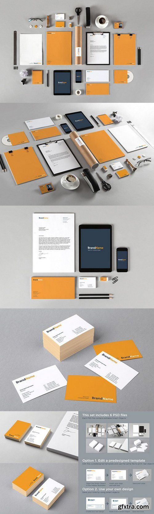 CM - Branding identity MockUps + Template 626846
