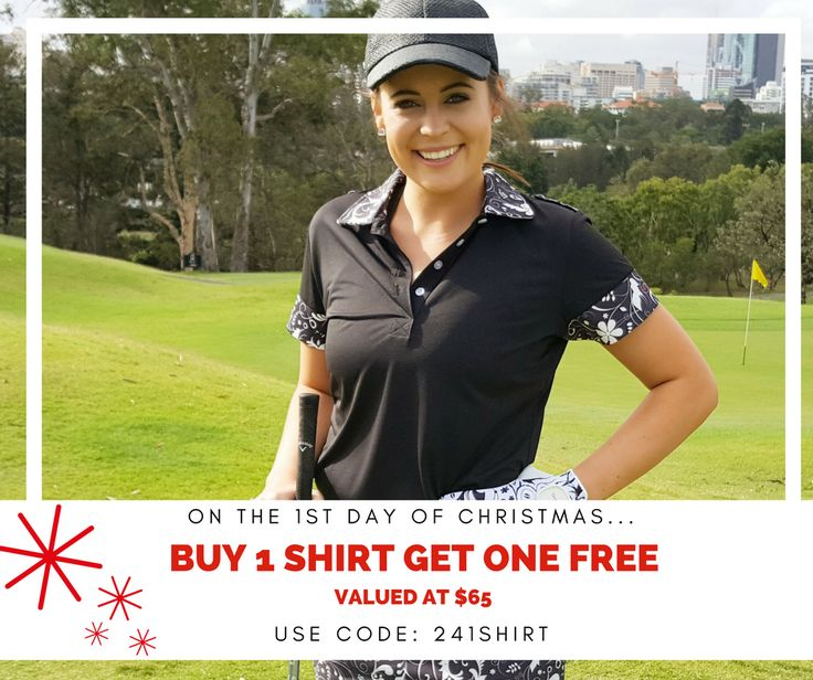 On the 1st day of Christmas, Eighteen Eves gave to me... an amazing shirt deal!!! 👚 Buy 1 shirt, get 1 shirt of choice for FREE valued at $65 👚  Use code: 241shirt at the checkout. Exp 15 Dec. 2016. Simply enter both shirts you like and use the code at the check out for it to allocate discount. Happy golfing! Full T&C can be found on our FB Events Page.