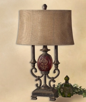 25 best lamps images on pinterest buffet lamps table lamps and tuscan lamp aloadofball Images