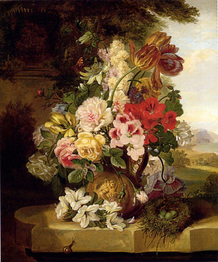 106 best Bouquet Paintings images on Pinterest | Art flowers ...