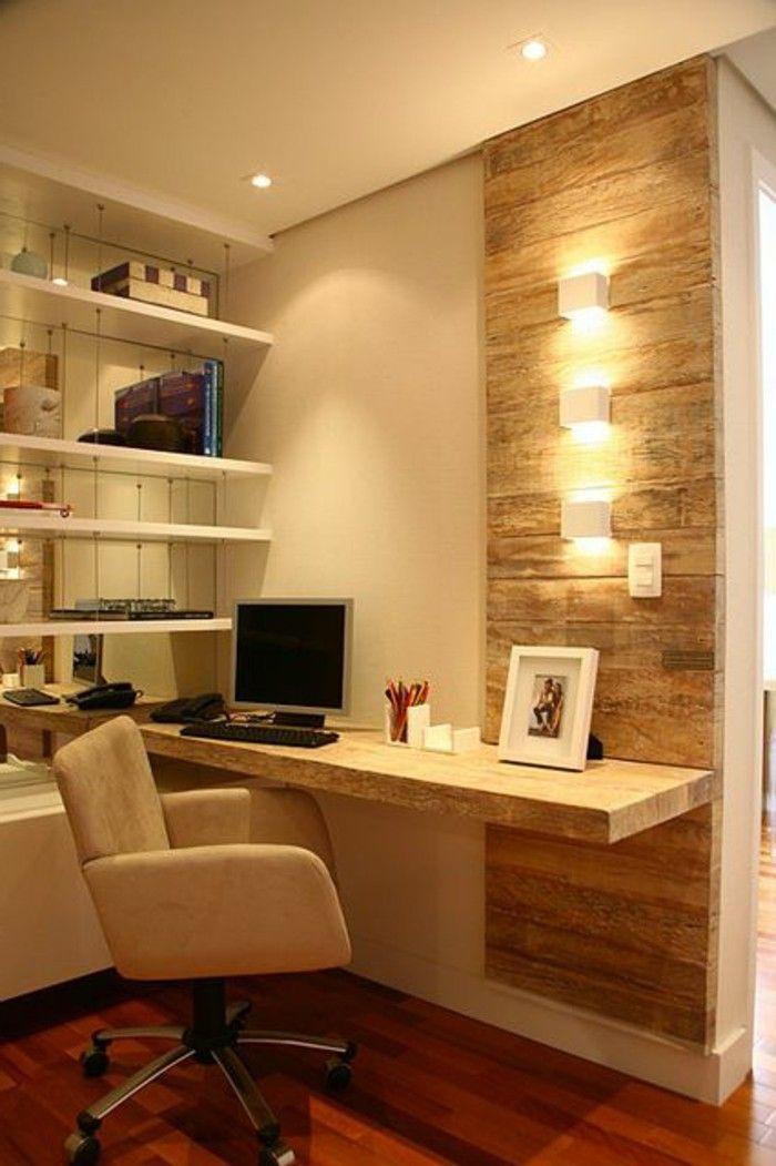Schreibtisch Platte Mit Beleuchtung Und Regalen