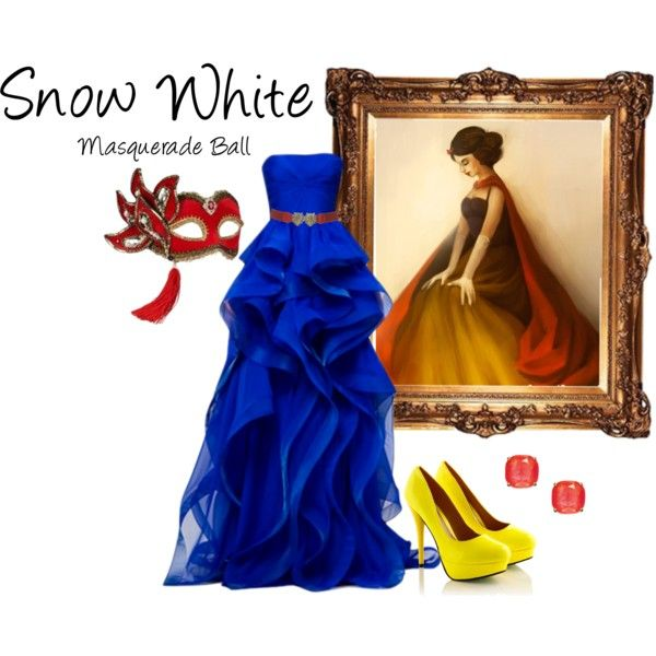 A fashion look from July 2013 featuring Reem gowns, Masquerade costumes and Kate Spade earrings. Browse and shop related looks.