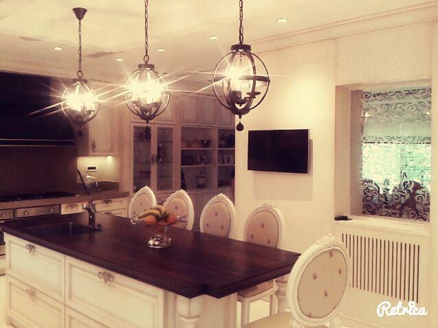 Kitchen-Design-Ideas :Traditional  White Patine Kitchen