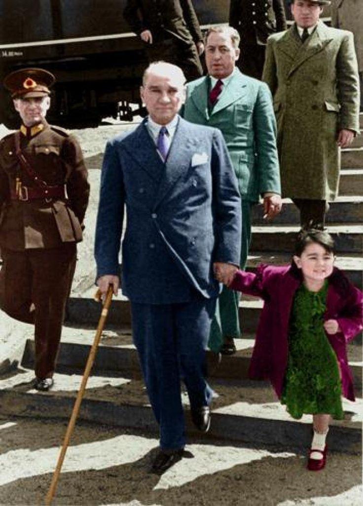 Her Birine Uzun Uzun Bakacağınız Ulu Önder Atatürk'ün En Güzel Fotoğrafları