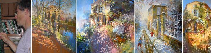 Laurent Parcelier artiste peintre Impressionniste - Galerie saint martin