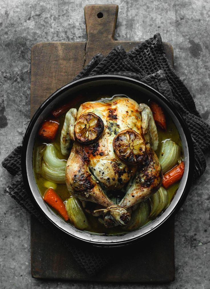 Oven Roasted Lemon and Garlic Chicken