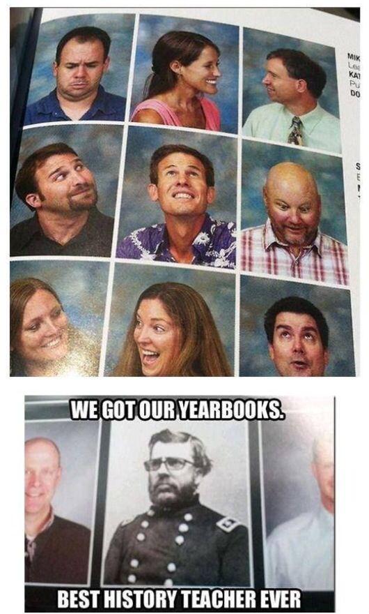Staff yearbook ideas