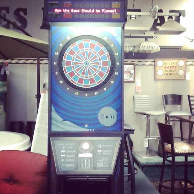 electronic dart boards at Sunny's Pool and More