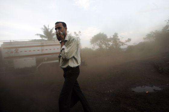 Nueva Delhi Contaminaci{on