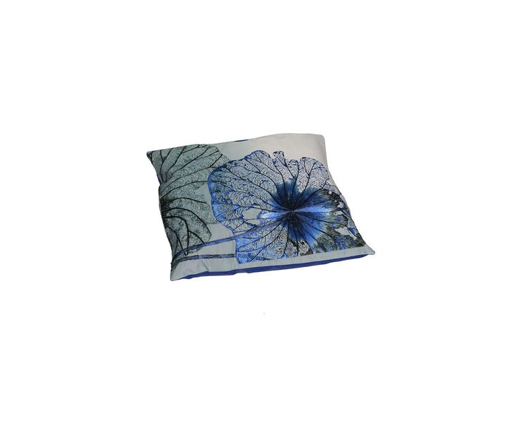 Декоративная подушка - шелк - Д45хШ45 | Westwing Интерьер & Дизайн