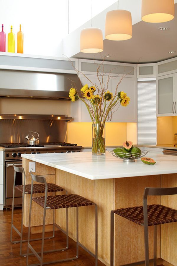 Pictures Of Kitchens Decorated With Sunflowers