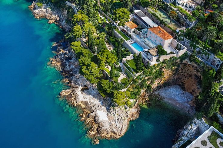Villa in Dubrovnik, Croatia. Villa Bellavista provides proof that opulent luxury can span the ages. This eye-opening, six-bedroom villa is tucked into the rocky cliffs, directly overlooking the pristine blue water of Dubrovnik and the Adriatic Sea. Villa Bellavista provides ...