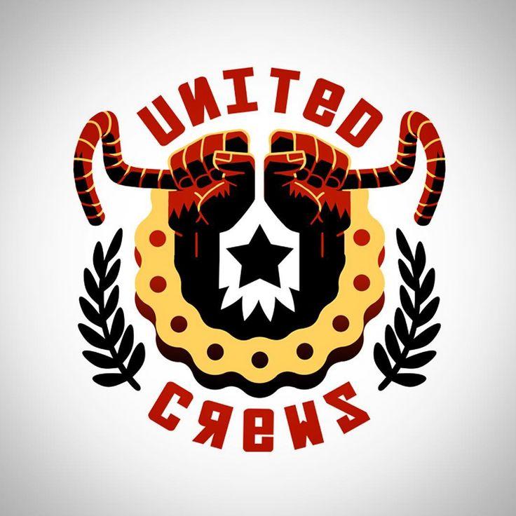 Logo @unitedcrews #logo #design #fixed #fixedgear #bike #fixed #cinelli #campagnolo #pista #dosnoventa #8bar #shimano #aventon #8barbike #bianchi #specializedbikes #fuji #blb #giant #trek #trekbikes #mash #rawcyclingmag #trackbike #fixedgear #fixedbike #bicycle #singlespeed
