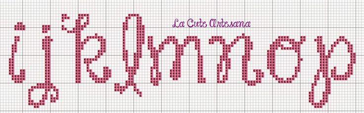 La Cute Artesana: abc janda happy day minusculas