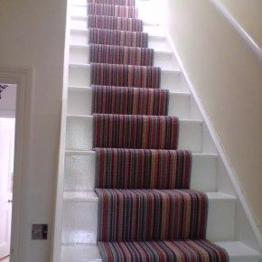 Colorful carpet for stairs from getitcut.com