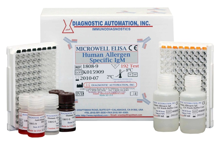 Human Allergen Specific IgE ELISA kit