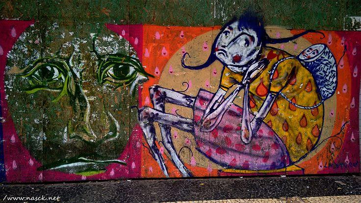 Grafite fotografado por mim (Nasck) na Av. Sete de Setembro/Salvador/BA