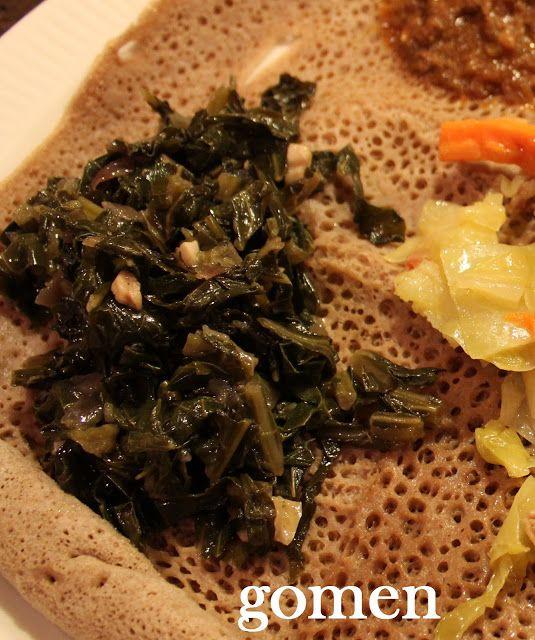 Ethiopian Recipe: Gomen (Greens)