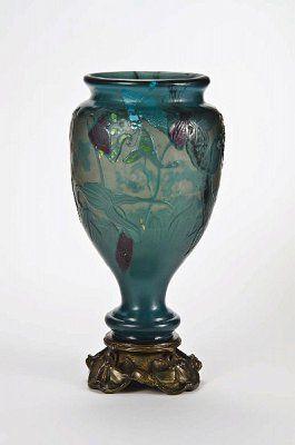 Vase [Fleurs d'eau] Émile Gallé ~ Nancy, 1895