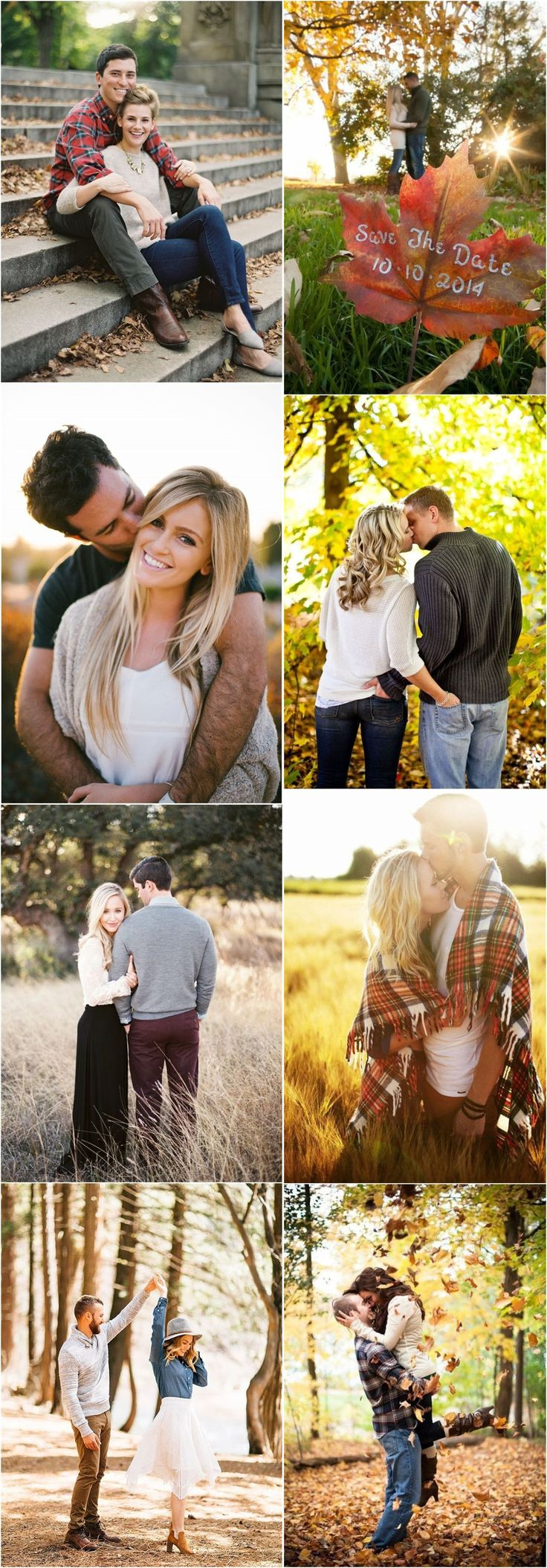 Engagement Photos » 23 Creative Fall    Engagement Photo Shoots Ideas I Should…