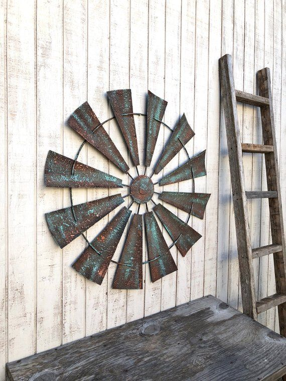 Windmill Wall Decor Wall Art Metal Windmill Wall Art Farmhouse Decor Farm House Decor Rustic Ho Windmill Wall Decor Farmhouse Decor House Decor Rustic