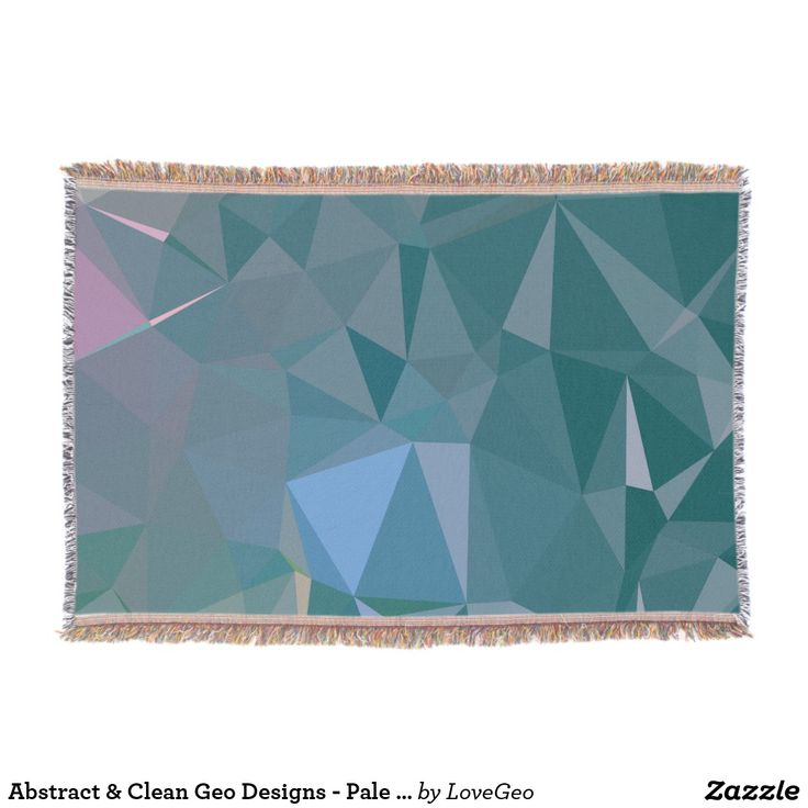 Abstract & Clean Geo Designs - Pale Vanadium Throw Blanket #LoveGeo #geometric #abstract #Uniquegifts #trendy #shopping #giftidea #personalized #throws #homedecor