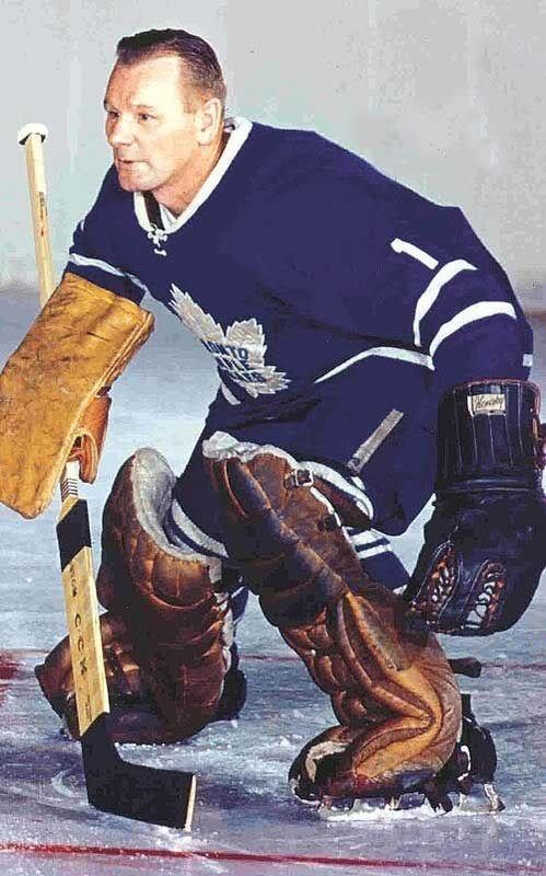 Johnny Bower. Met him not that long ago.