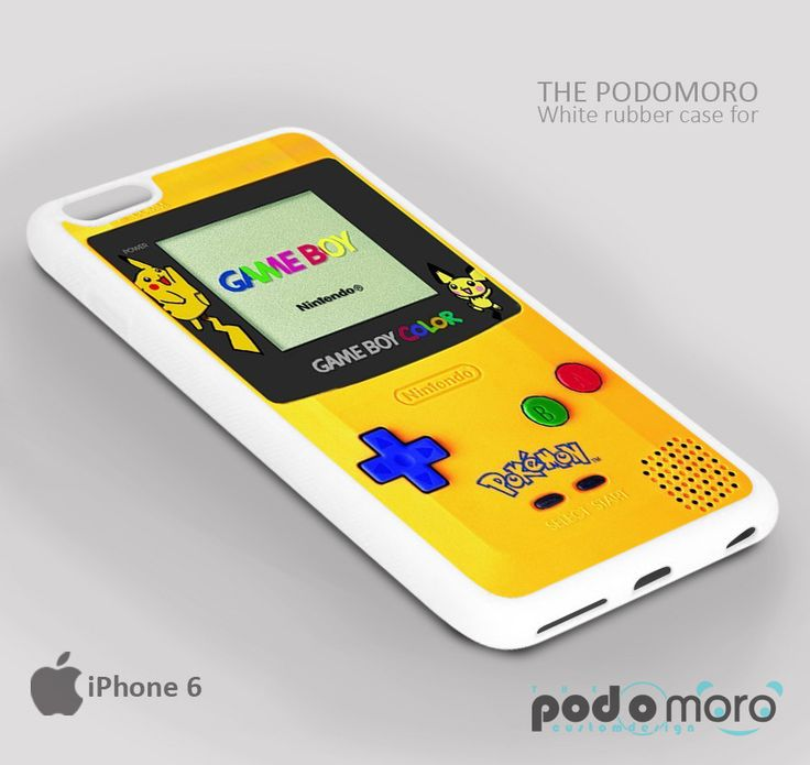 Nintendo Gameboy Color Pokemon for iPhone 4/4S, iPhone 5/5S, iPhone 5c, iPhone 6, iPhone 6 Plus, iPod 4, iPod 5, Samsung Galaxy S3, Galaxy S4, Galaxy S5, Galaxy S6, Samsung Galaxy Note 3, Galaxy Note 4, Phone Case