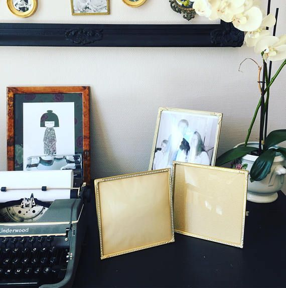 Photo frames/Bronze/gatsby/vintage wedding/bevelled glass