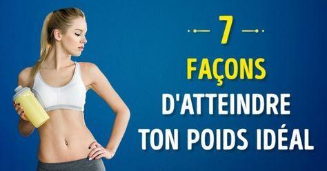7 Façons géniales de gagner de la masse musculaire et d'atteindre ton poids idéal