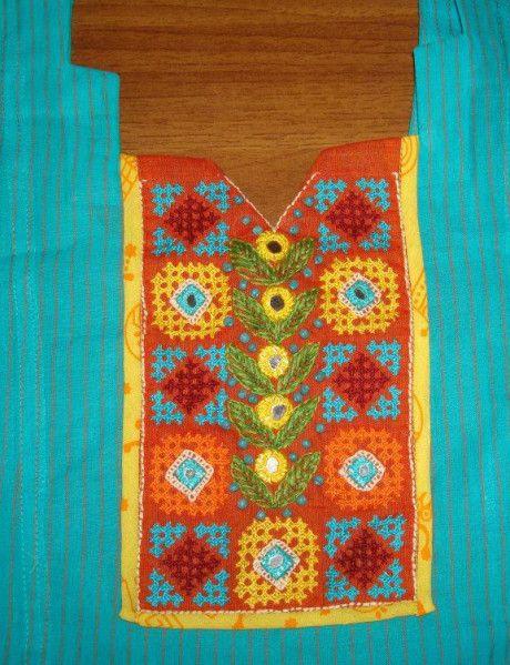 yeloow orange Patiala blue unic-det