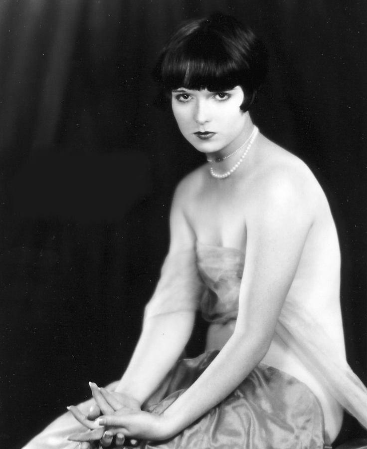 Louise Brooks | Louise brooks, Silent film, Ziegfeld girls