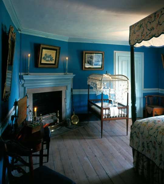Downstairs Bedroom Mount Vernon - (George Washington's home)