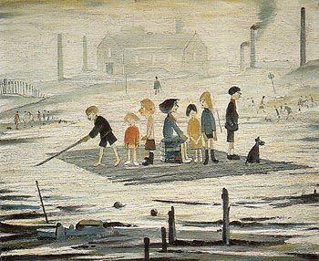 L-S-Lowry The Raft 1956