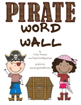 Ahoy, me Hearties! If your boring word wall makes you say AAAARRRRGGGGHHHH!  Get it ship shape with this treasure!!This pirate themed word wa...